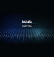Big data visualization background 3d big data