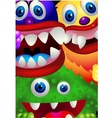 Monster cartoon vector | Price: 3 Credits (USD $3)