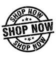 Shop now round grunge black stamp