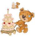 a brown teddy bear rolling