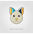 Cat icon Farm animal vector image vector image