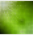Green mosaic Summer theme template vector image vector image