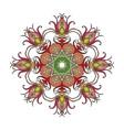 mandala Mehndi lace tattoo Art Nouveau weave vector image vector image