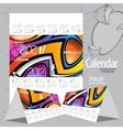 2012 calendar calendar house vector image vector image