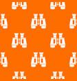 binoculars pattern seamless vector image vector image