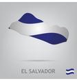 el salvador vector image