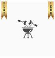 Grill Or Barbecue Icon vector image vector image