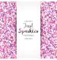 sparkles seamless pattern vector image vector image