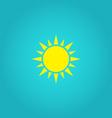 Sun Icon vector image vector image