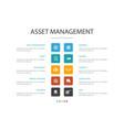 asset management infographic 10 option concept