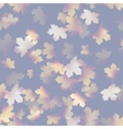 Autumn maple leaves pattern background EPS 10 vector image