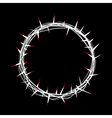 crown thorns vector image