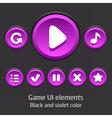 GameUiElements08 vector image vector image