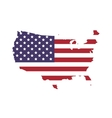 Map icon USA design graphic vector image
