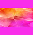 multi triangle abstract background vector image vector image