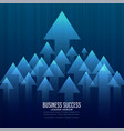 stylish business leader concept background vector image vector image
