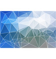 white blue shades geometric background with mesh vector image