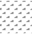 chart pattern seamless vector image