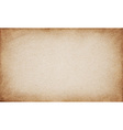 Realistic brown cardboard stained texture vector image
