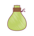bag cloth accessory to save thing vector image vector image