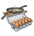 eggs packaging vector image