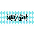 oktoberfest texture background beer vector image