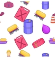 Petroleum pattern cartoon style vector image vector image