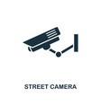 street camera icon monochrome style design from vector image