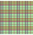 Tartan light seamless pattern vector image vector image