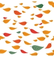 falling leaves vector image
