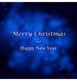 Abstract Christmas background and place for text vector image