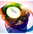 Abstract Background in Colour vector image vector image