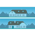 Architectural house vector image vector image