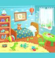 cartoon kids bedroom interior home children room