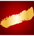 Chinese New Year Gold Ink on Red Seamless Pattern vector image vector image