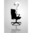 Empty Chair vector image vector image
