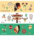 Ethnic design concept banners vector image vector image