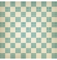 Grunge chessboard background vector image vector image