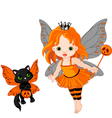 Halloween baby fairy vector | Price: 3 Credits (USD $3)