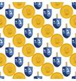on theme big colored pattern hanukkah vector image vector image