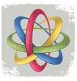 science symbol as for rings vector image vector image