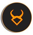 Taurus zodiac vector image