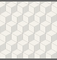 abstract 3d seamless cube pattern vector image
