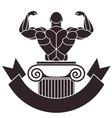 Bodybuilding vector image vector image
