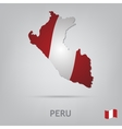 country peru vector image