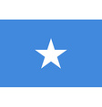 Flag of Somalia vector image