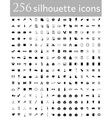 flat icons 15 vector image