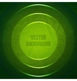 Geometric Background Grunge Background with green vector image vector image