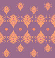 indian ornament beetles on purple with dots vector image vector image
