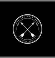 rustic retro vintage indian arrow logo design vector image vector image